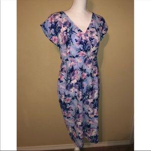 Pinkblush Maternity Midi Dress